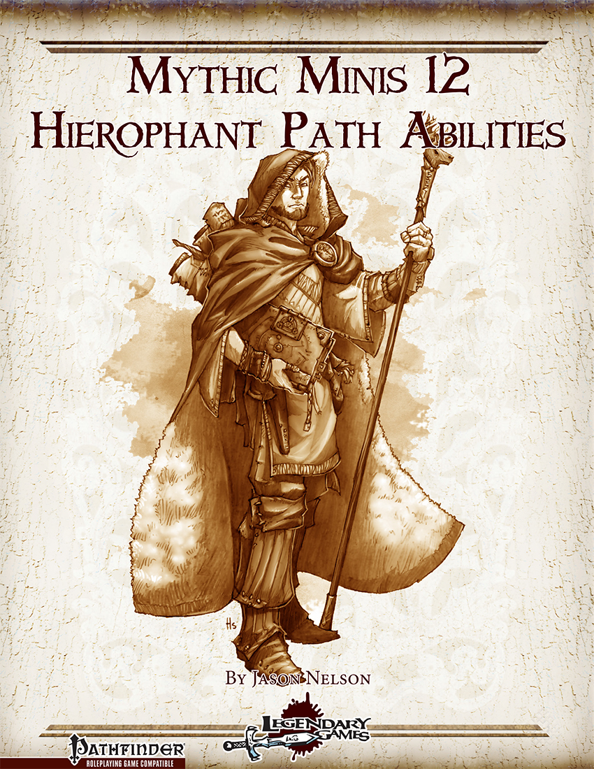 Mythic Mini - Hierophant Path Abilities (cover)
