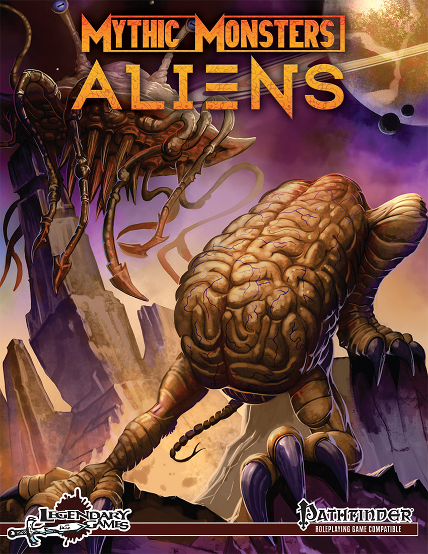 Mythic Monsters - Aliens (front cover)