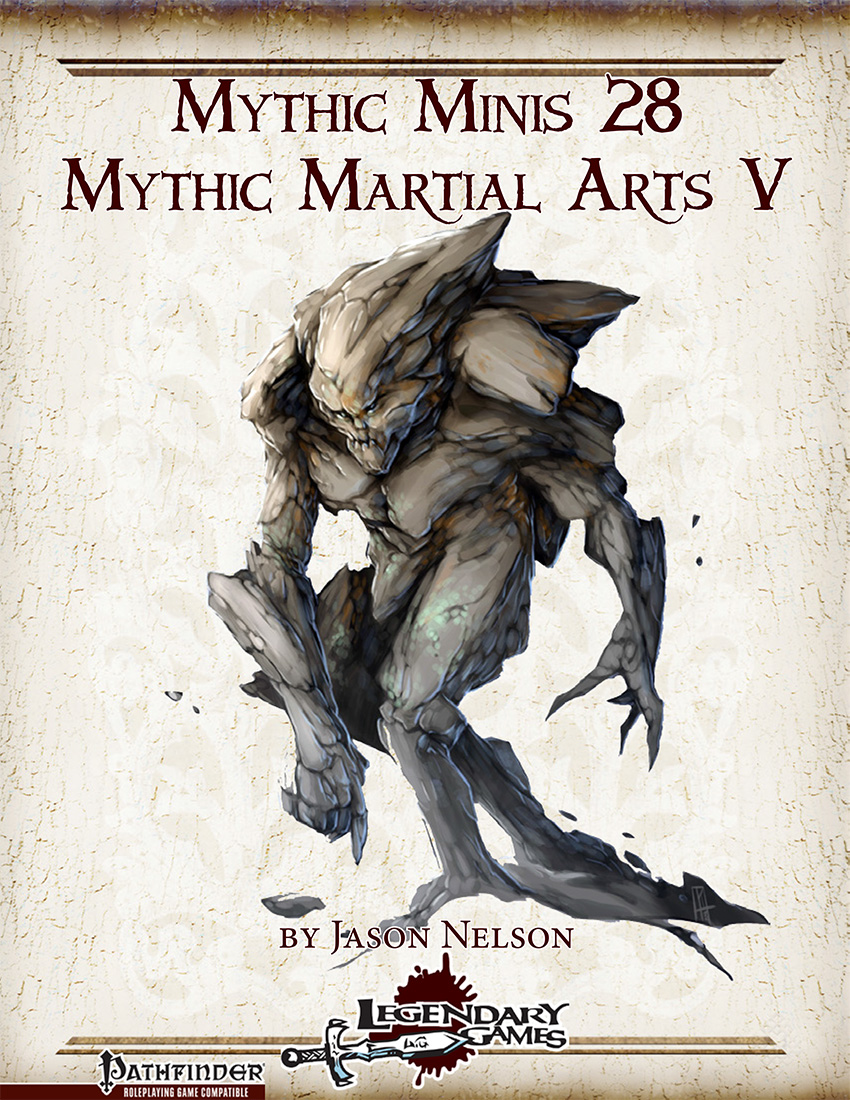 makeyourgamelegendary.com - Mythic Martial Arts V (cover)