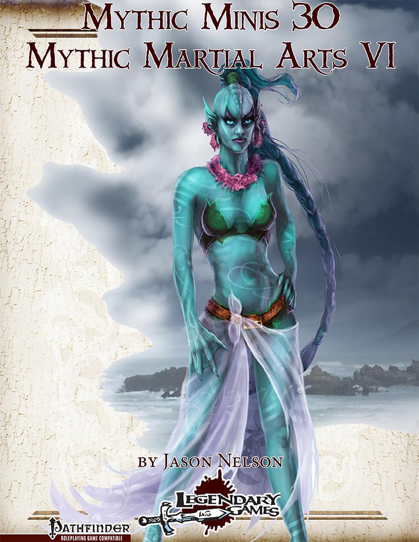 Mythic Martial Arts VI(cover)