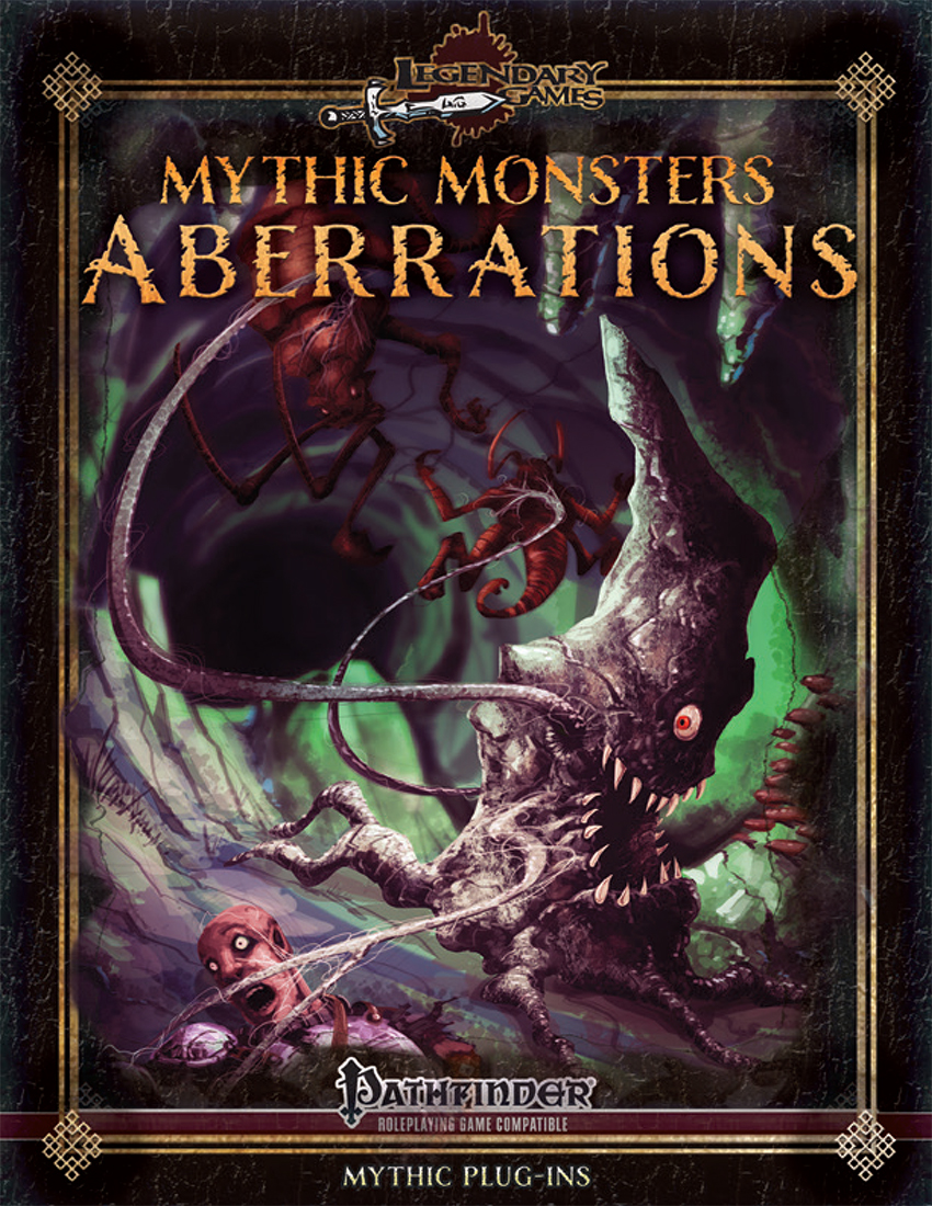 Mythic Monsters - Aberrations(hybrid cover)