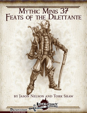makeyourgamelegendary.com - Feats of the Dilettante (cover)