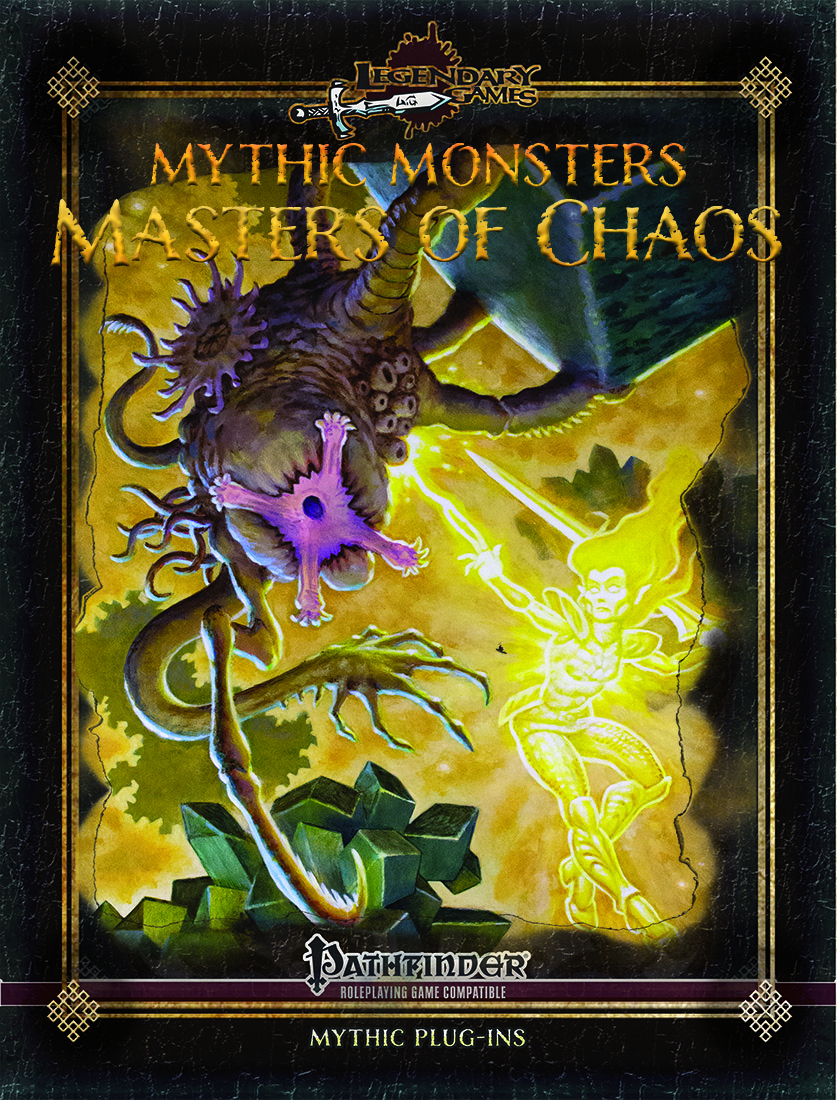 makeyourgamelegendary.com - Mythic Monster - Masters of Chaos Cover
