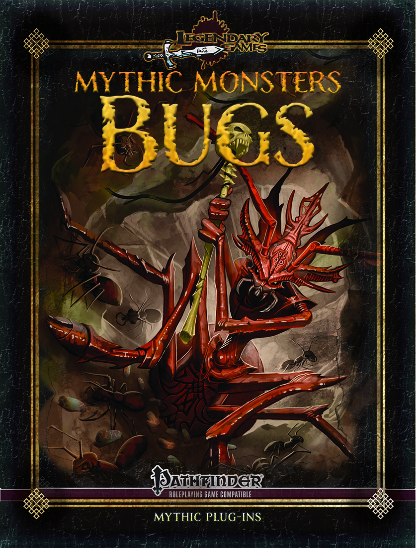 makeyourgamelegendary.com - Mythic Monsters Bugs (cover)