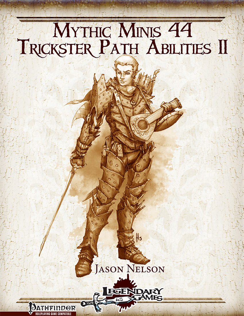 makeyourgamelegendary.com - Mythic Minis 44 - Trickster Path Abilities II (cover)