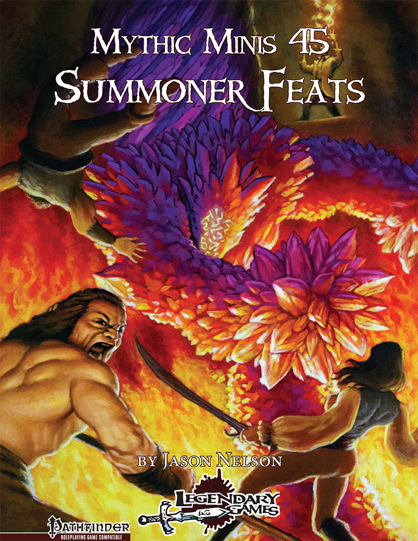 makeyourgamelegendary.com - Mythic Minis 45 - Summoner Feats (cover)