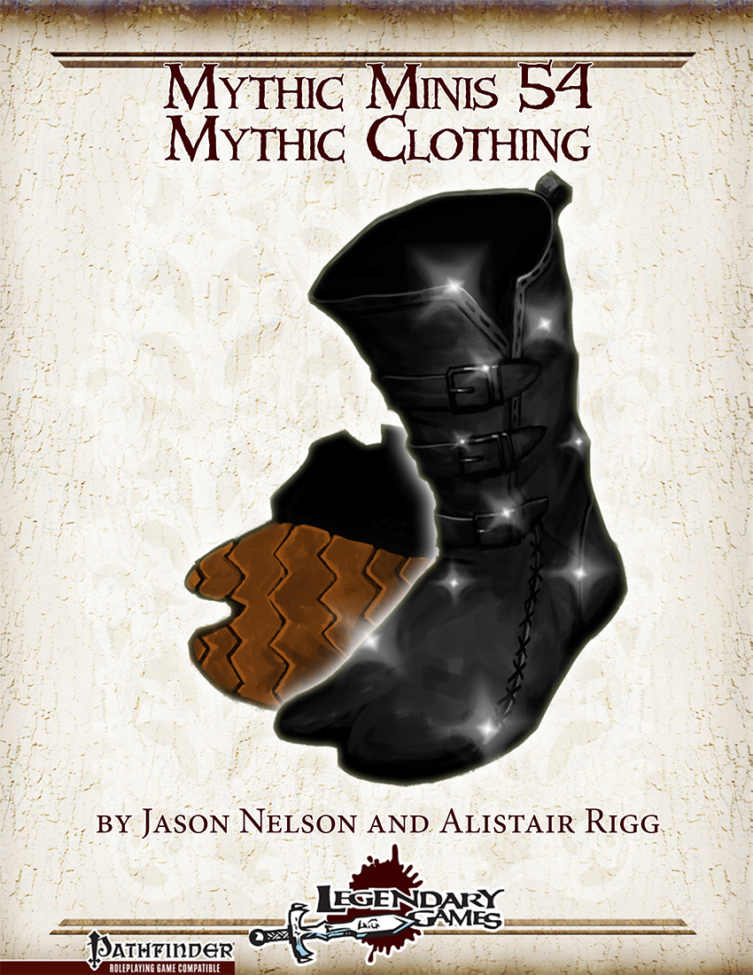 makeyourgamelegendary.com - Mythic Minis 54 - Mythic Clothing (cover)