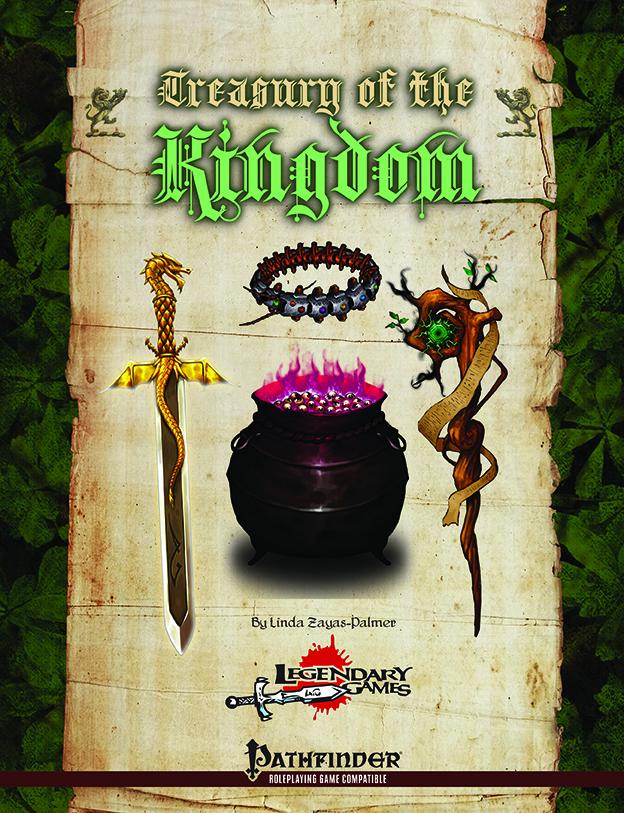 makeyourgamelegendary.com - Treasury of the Kingdom (cover)