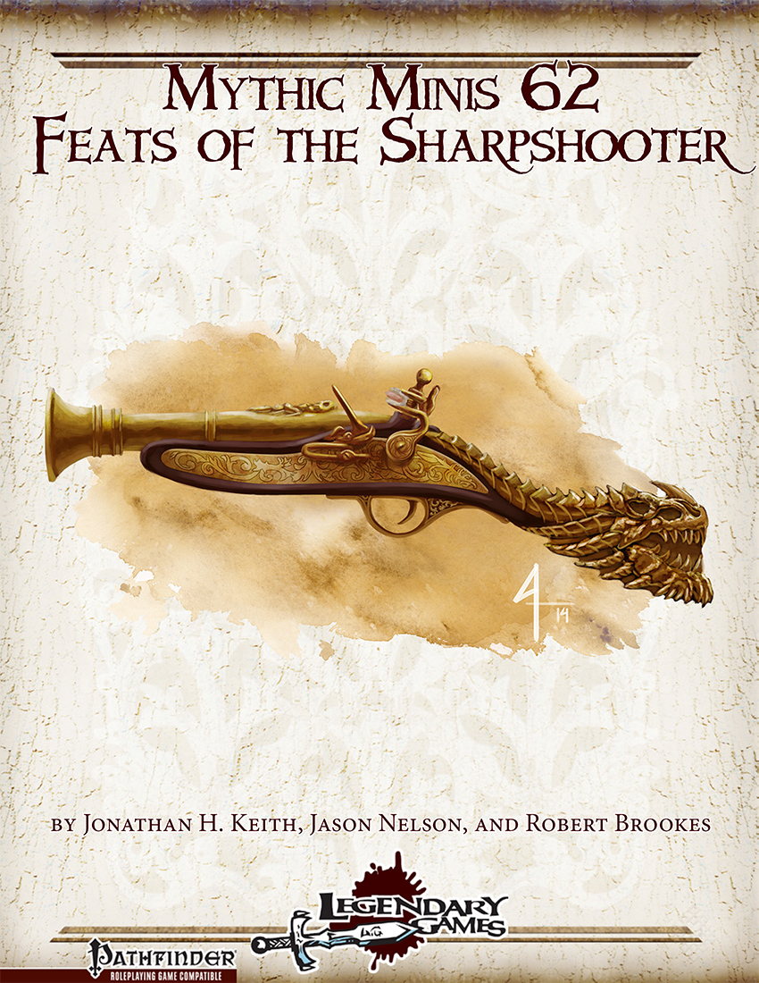 Mythic Minis 62 - Feats of the Sharpshooter cover