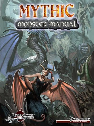 Mythic Monster Manual cover