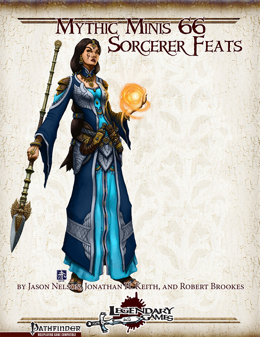 Mythic Minis 66 - Sorcerer Feats cover