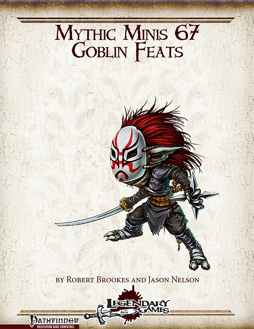 Mythic Minis 67 - Goblin Feats cover