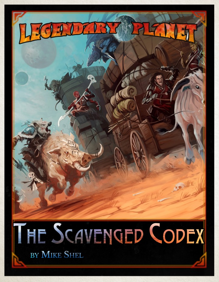 The Scavenged Codex cover