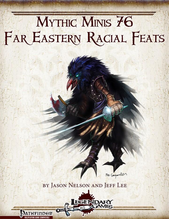 Mythic Minis 76 - Far Eastern Feats cover