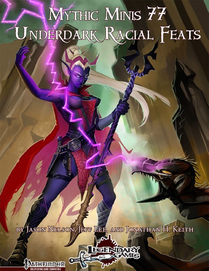 Mythic Minis 77 - Underdark Racial Feats cover