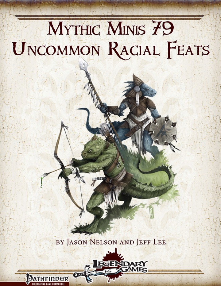 Mythic Minis 79 - Uncommon Racial Feats cover