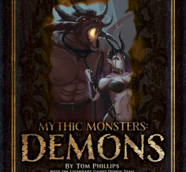 Mythic Monster Demons cover