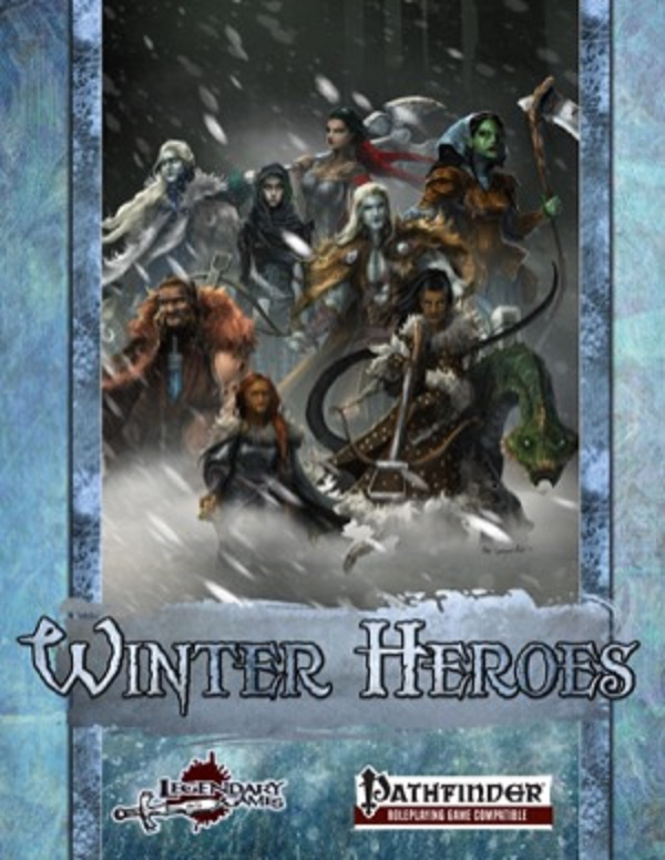Winter Heroes: Pregenerated Characters