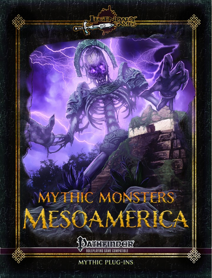 Mythic Monsters - Mesoamerica Cover