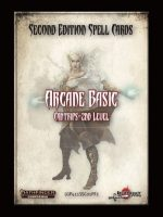 Second Edition Spell Cards: Arcane Basic
