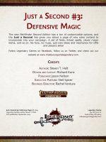 Just a Second #3: Defensive Magic