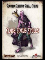 Second Edition Spell Cards: Class Focus Spells