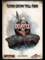 Second Edition Spell Cards: Devotee Spells